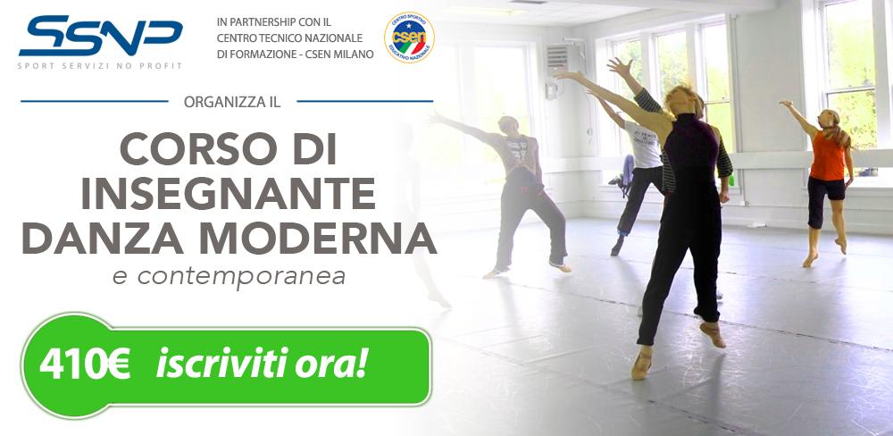 Insegnante danza moderna e contemporanea
