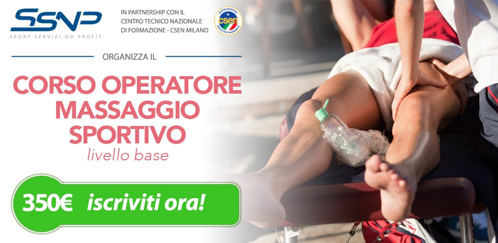 Operatore massaggio sportivo - base