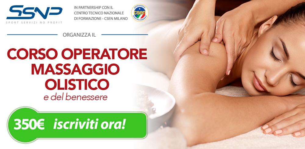 Operatore massaggio olistico e del benessere